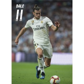 POSTAL REAL MADRID 2018/2019 BALE ACCION