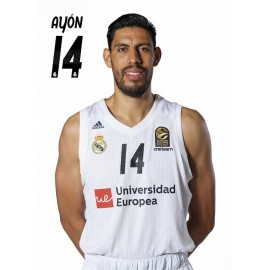 POSTAL REAL MADRID BALONCESTO 2018/2019 AYON
