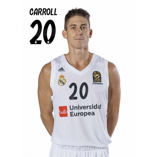 POSTAL REAL MADRID BALONCESTO 2018/2019 CARROLL