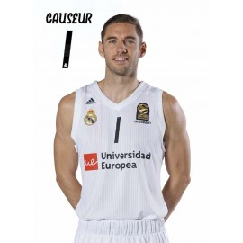 POSTAL REAL MADRID BALONCESTO 2018/2019 CAUSEUR
