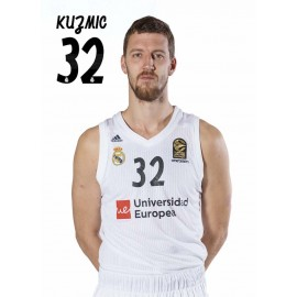 POSTAL REAL MADRID BALONCESTO 2018/2019 KUZMIC