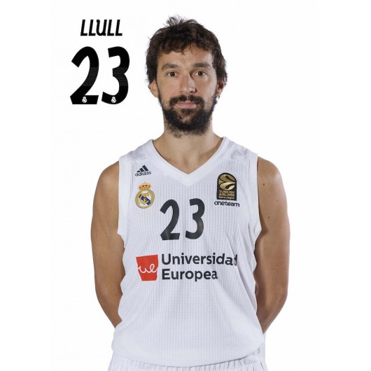 POSTAL REAL MADRID BALONCESTO 2018/2019 LLULL