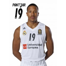 POSTAL REAL MADRID BALONCESTO 2018/2019 PANTZAR