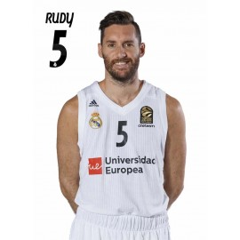 POSTAL REAL MADRID BALONCESTO 2018/2019 RUDY