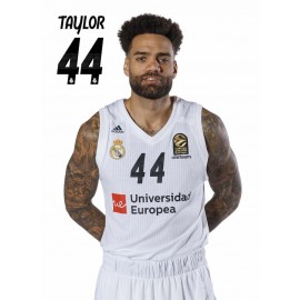 POSTAL REAL MADRID BALONCESTO 2018/2019 TAYLOR