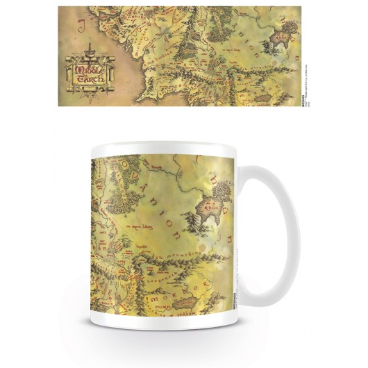 TAZA THE LORD OF THE RINGS MIDDLE EARTH