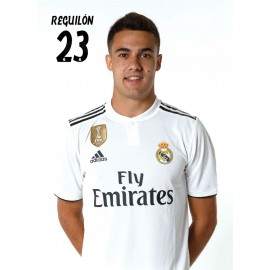POSTAL REAL MADRID 2018/2019 REGUILON BUSTO