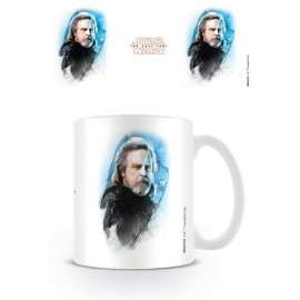 TAZA STAR WARS THE LAST JEDI LUKE SKYWALKER BRUSHSTROKE