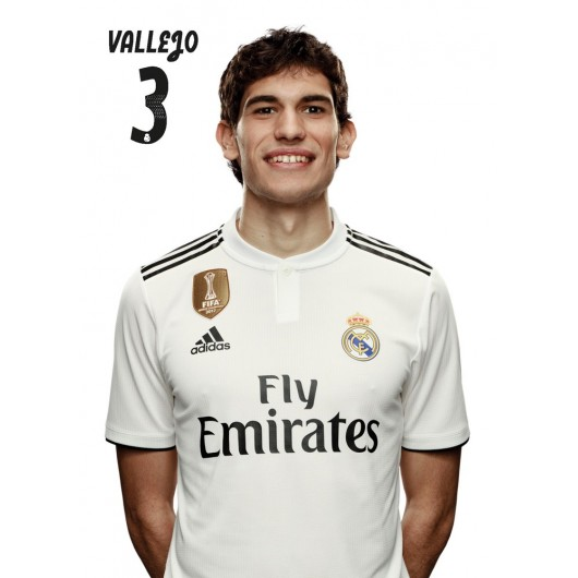 POSTAL REAL MADRID 2018/2019 VALLEJO BUSTO