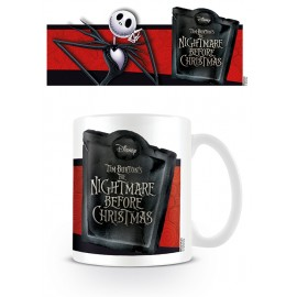 TAZA NIGHTMARE BEFORE CHRISTMAS JACK BANNER