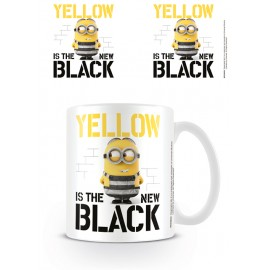 TAZA DESPICABLE ME 3 YELLOW IS THE NEW BLACK