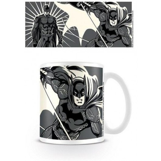 TAZA DC COMICS JUSTICE LEAGUE BATMAN COLOUR