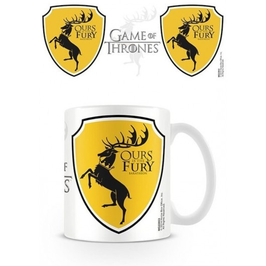 TAZA GAME OF THRONES BARATHEON