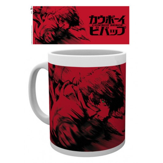 TAZA COWBOY BEBOP SPIKE RED