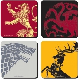 POSAVASOS SET OF 4 GAME OF THRONES