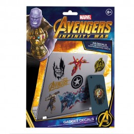 GADGET DECALS MARVEL AVENGERS INFINITY WAR
