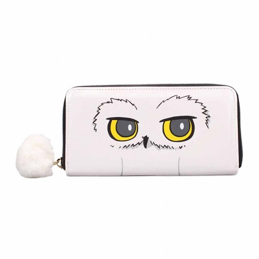 MONEDERO GRANDE HARRY POTTER HEDWIG