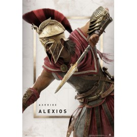 POSTER ASSASSINS CREED ODYSSEY ALEXIOS