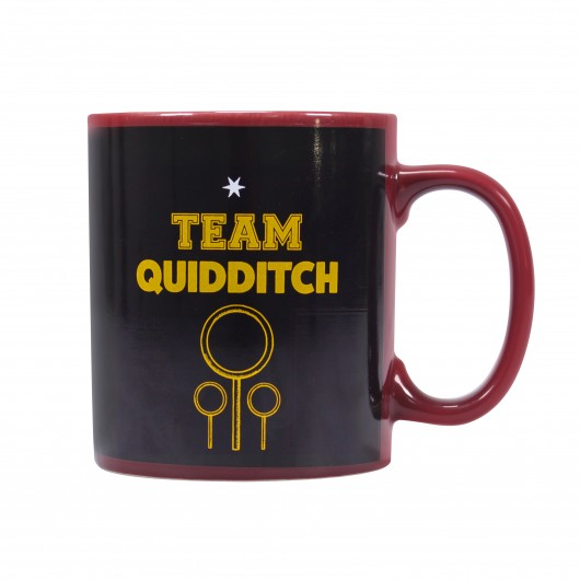 TAZA TERMOCOLORA HARRY POTTER QUIDDITCH