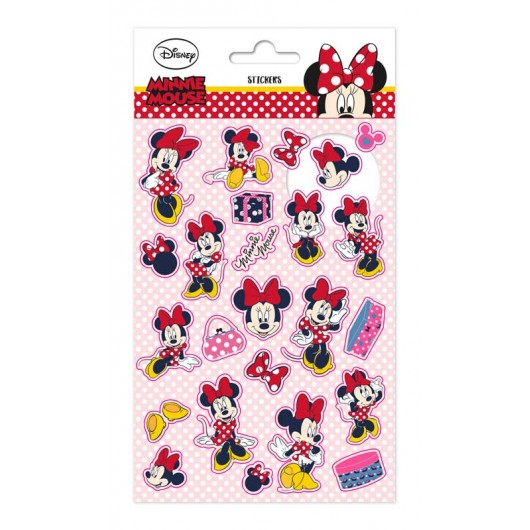 SET STICKERS DISNEY MINNIE