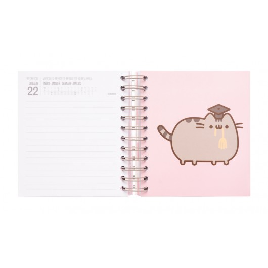 AGENDA ESCOLAR 2019/2020 DP M PUSHEEN GOLD