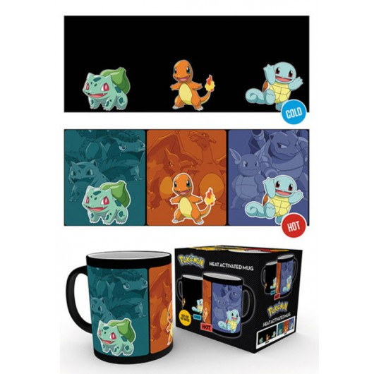 TAZA TERMOCOLORA POKEMON CATCH THEM ALL
