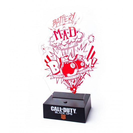 LAMPARA CALL OF DUTY BLACK OPS 4