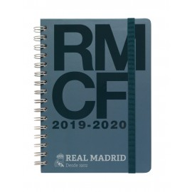 AGENDA ESCOLAR 2019/2020 A5 12 MESES REAL MADRID