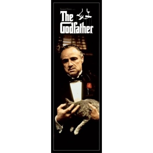 POSTER PUERTA THE GODFATHER