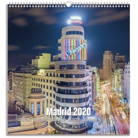 CALENDARIO TURISTICO MEDIANO 2020 MADRID