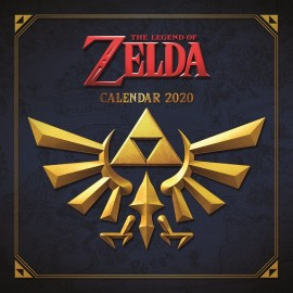 CALENDARIO 2020 30X30 THE LEGEND OF ZELDA