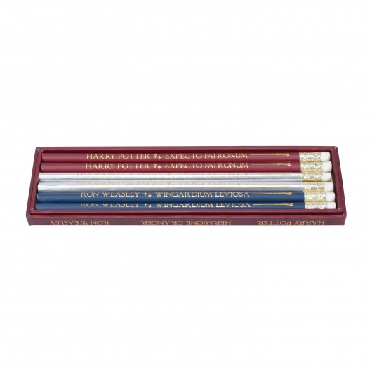 LAPICES SET DE 6 HARRY POTTER WANDS