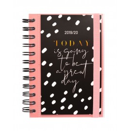 AGENDA ESCOLAR 2019/2020 DP S GLITTER GOLD DREAMS