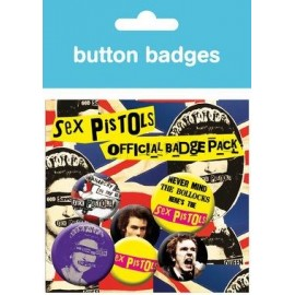 Pack De Chapas Sex Pistols Album