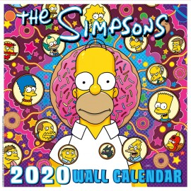 CALENDARIO 2020 30X30 THE SIMPSONS