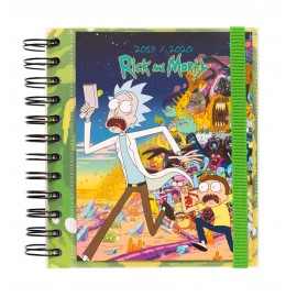 AGENDA ESCOLAR 2019/2020 DP M RICK & MORTY