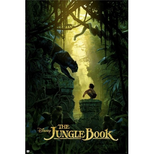 POSTER DISNEY THE JUNGLE BOOK ONESHEET