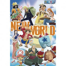 POSTER ONE PIECE NEW WORLD TEAM