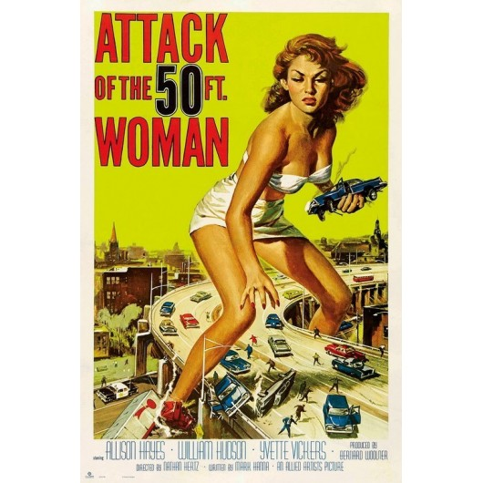 POSTER ATTACK OF THE 50TH WOMAN