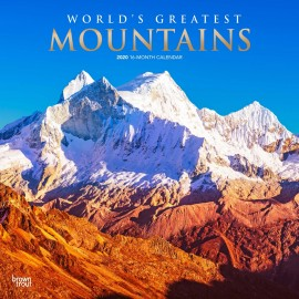 CALENDARIO 2020 30X30 WORLD GREATEST MOUNTAINS