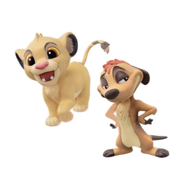 FIGURA QSPOCKET DISNEY LION KING SIMBA & TIMON