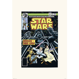 PRINT 45X65 CM STAR WARS 21 SHADOW OF A DARK LORD