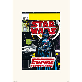 PRINT 45X65 CM STAR WARS 39 TESB THE BEGINNING