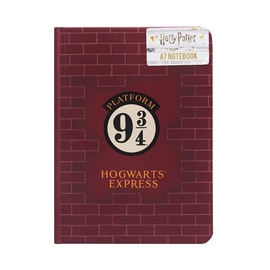 CUADERNO A7 HARRY POTTER PLATFORM 9 3/4