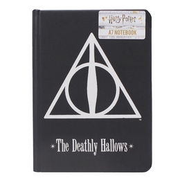 CUADERNO A7 HARRY POTTER DEATHLY HALLOWS
