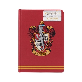 CUADERNO A7 HARRY POTTER GRYFFINDOR