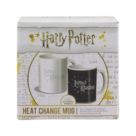 TAZA TERMOCOLORA HARRY POTTER LUMOS