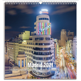 CALENDARIO TURISTICO MEDIANO 2021 MADRID
