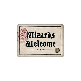 IMAN METAL HARRY POTTER WIZARDS WELCOME