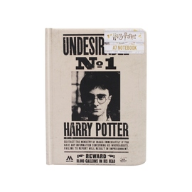 CUADERNO A7 HARRY POTTER UNDESIRABLE NO1